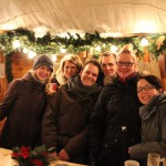 On the Christmas Market in Kassel shortly before Christmas with my buddies.